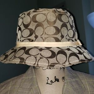 New Coach Signature Crusher Bucket Hat